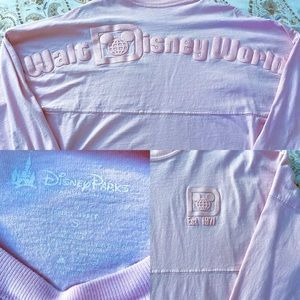Disney Spirit Jersey- Millennial pink